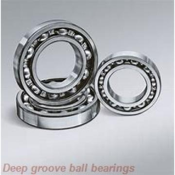 9 mm x 24 mm x 7 mm  skf W 609 R Deep groove ball bearings