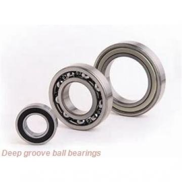 9,525 mm x 22,225 mm x 24,613 mm  skf D/W R6 R Deep groove ball bearings