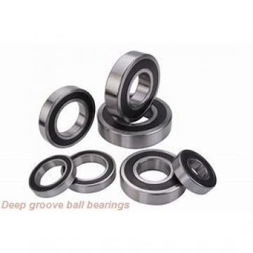 10 mm x 19 mm x 5 mm  skf W 61800 R-2Z Deep groove ball bearings