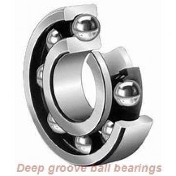 6 mm x 16 mm x 5 mm  skf W 619/6 X-2RZ Deep groove ball bearings
