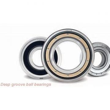 120 mm x 165 mm x 22 mm  skf 61924 MA Deep groove ball bearings