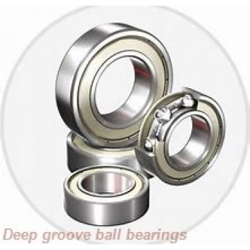 6,35 mm x 15,875 mm x 17,526 mm  skf D/W R4 R Deep groove ball bearings