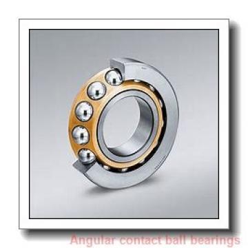 85 mm x 210 mm x 52 mm  skf 7417 BAGAMC Single row angular contact ball bearings