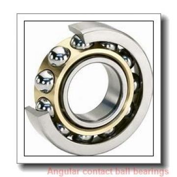 45 mm x 85 mm x 19 mm  skf 7209 BE-2RZP Single row angular contact ball bearings