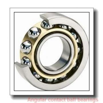 80 mm x 140 mm x 26 mm  skf 7216 BEP Single row angular contact ball bearings