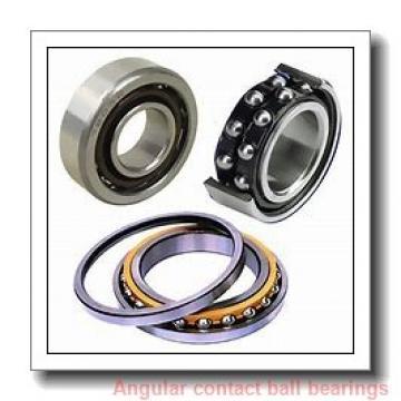 55 mm x 100 mm x 21 mm  skf 7211 BEP Single row angular contact ball bearings