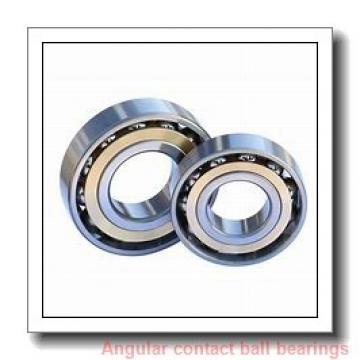 30 mm x 72 mm x 19 mm  skf 7306 BEGBP Single row angular contact ball bearings