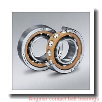 20 mm x 47 mm x 14 mm  skf 7204 BEP Single row angular contact ball bearings