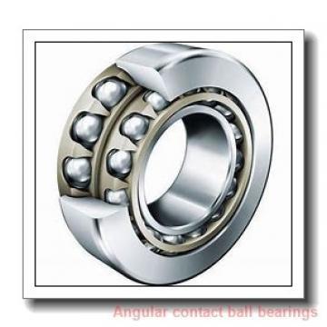 30 mm x 72 mm x 19 mm  skf 7306 BEGBM Single row angular contact ball bearings