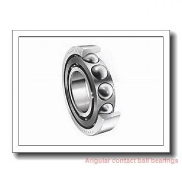 30 mm x 72 mm x 19 mm  skf 7306 BECBP Single row angular contact ball bearings