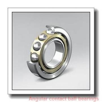 120 mm x 215 mm x 40 mm  skf 7224 BM Single row angular contact ball bearings