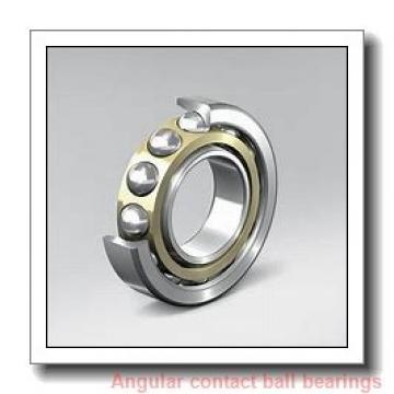 30 mm x 62 mm x 16 mm  skf 7206 BE-2RZP Single row angular contact ball bearings