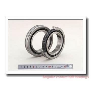 80 mm x 200 mm x 48 mm  skf 7416 GAM Single row angular contact ball bearings