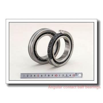 85 mm x 180 mm x 41 mm  skf 7317 BECBF Single row angular contact ball bearings