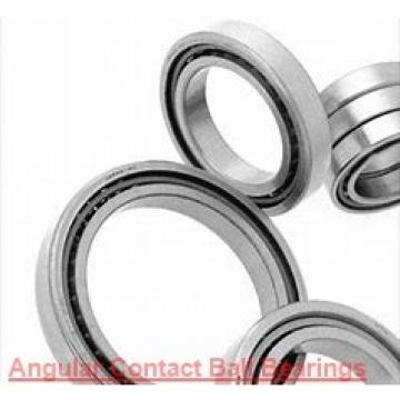 90 mm x 190 mm x 43 mm  SNR 7318.BG.M Single row or matched pairs of angular contact ball bearings