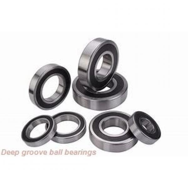 10 mm x 19 mm x 5 mm  skf W 61800 R-2Z Deep groove ball bearings #1 image