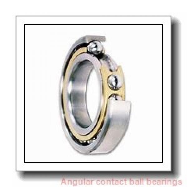 55 mm x 140 mm x 33 mm  skf 7411 BGBM Single row angular contact ball bearings #1 image