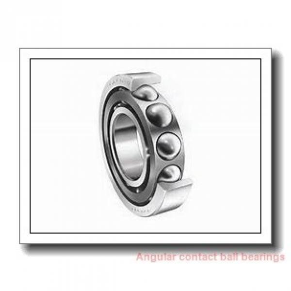 35 mm x 72 mm x 17 mm  skf 7207 BECBM Single row angular contact ball bearings #1 image