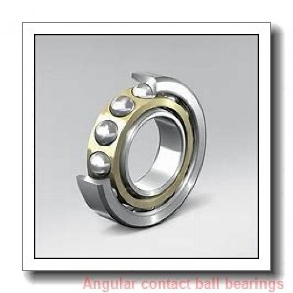 25 mm x 62 mm x 17 mm  skf 7305 BE-2RZP Single row angular contact ball bearings #1 image