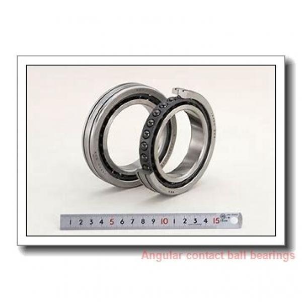 30 mm x 62 mm x 16 mm  skf 7206 BEGAJ Single row angular contact ball bearings #1 image