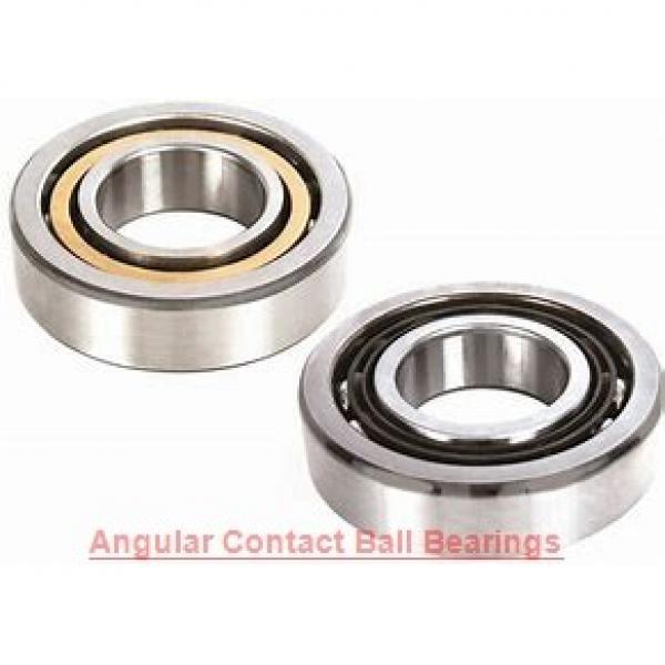 90 mm x 190 mm x 43 mm  NTN 7318BDBTT/GNPX5 Single row or matched pairs of angular contact ball bearings #1 image